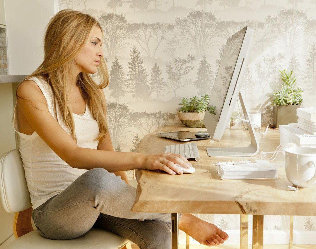 El trabajo desde el hogar incrementó el uso de Internet.