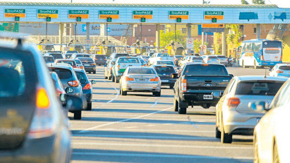 Rige nuevamente el cobro de peajes en las autopistas