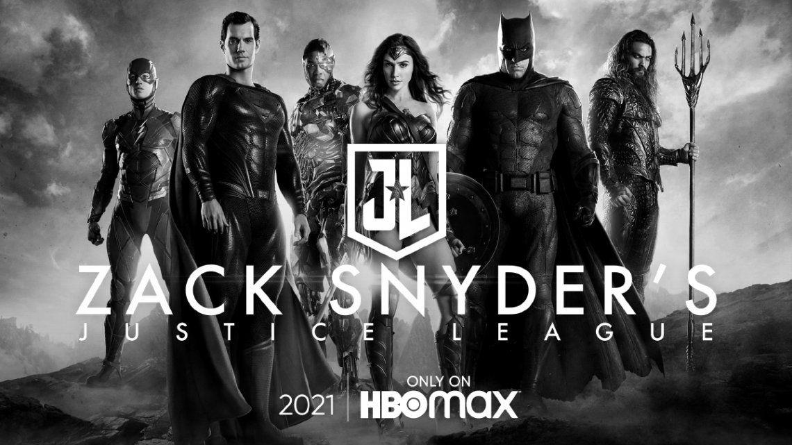 Fan service: HBO Max confirma que estrenará el Snyder Cut de Liga de la Justicia
