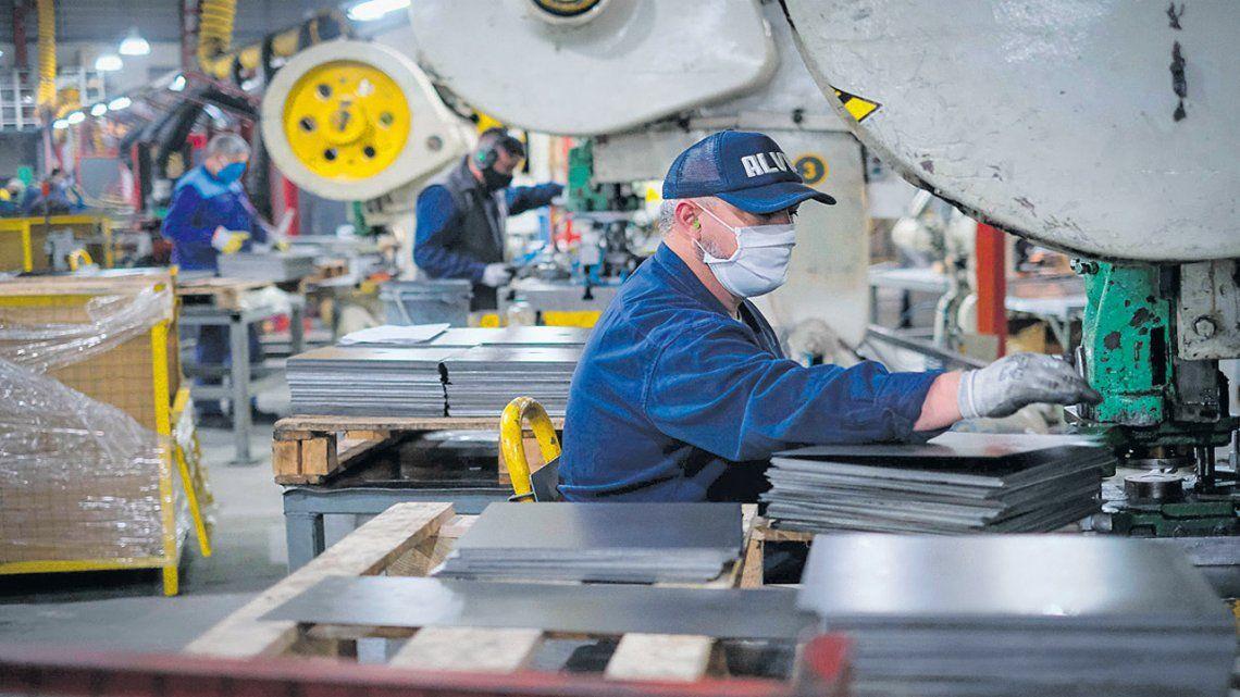 La producción industrial está otra vez en marcha