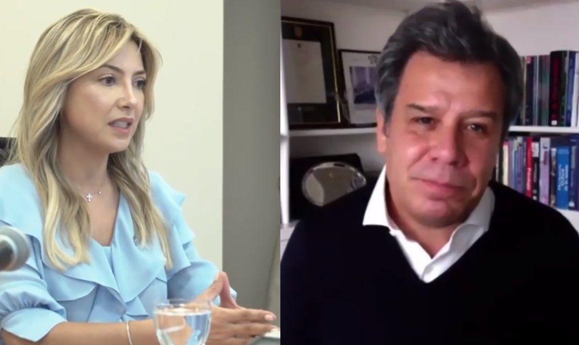 Fabiola Yáñez conversó con Facundo Manes sobre cómo impacta el aislamiento en la salud