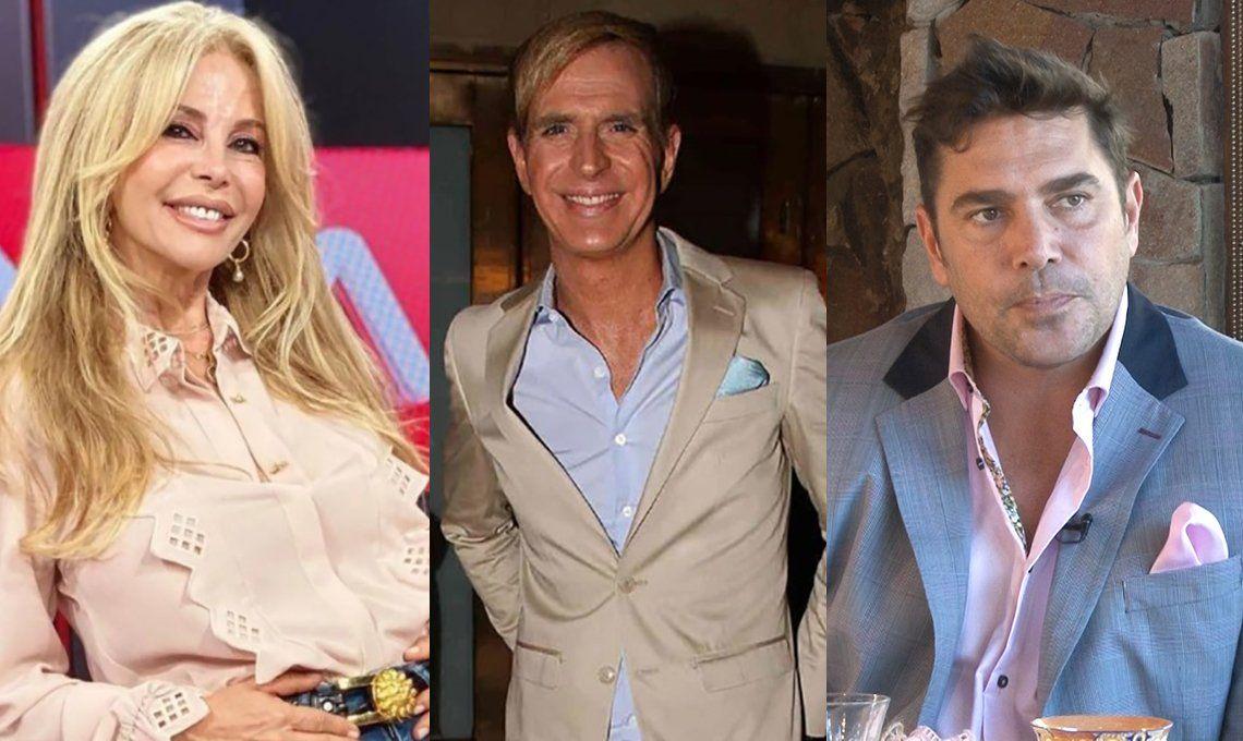 Graciela Alfano reveló que mantuvo un triángulo amoroso con Matías Alé y Jorge Ibáñez