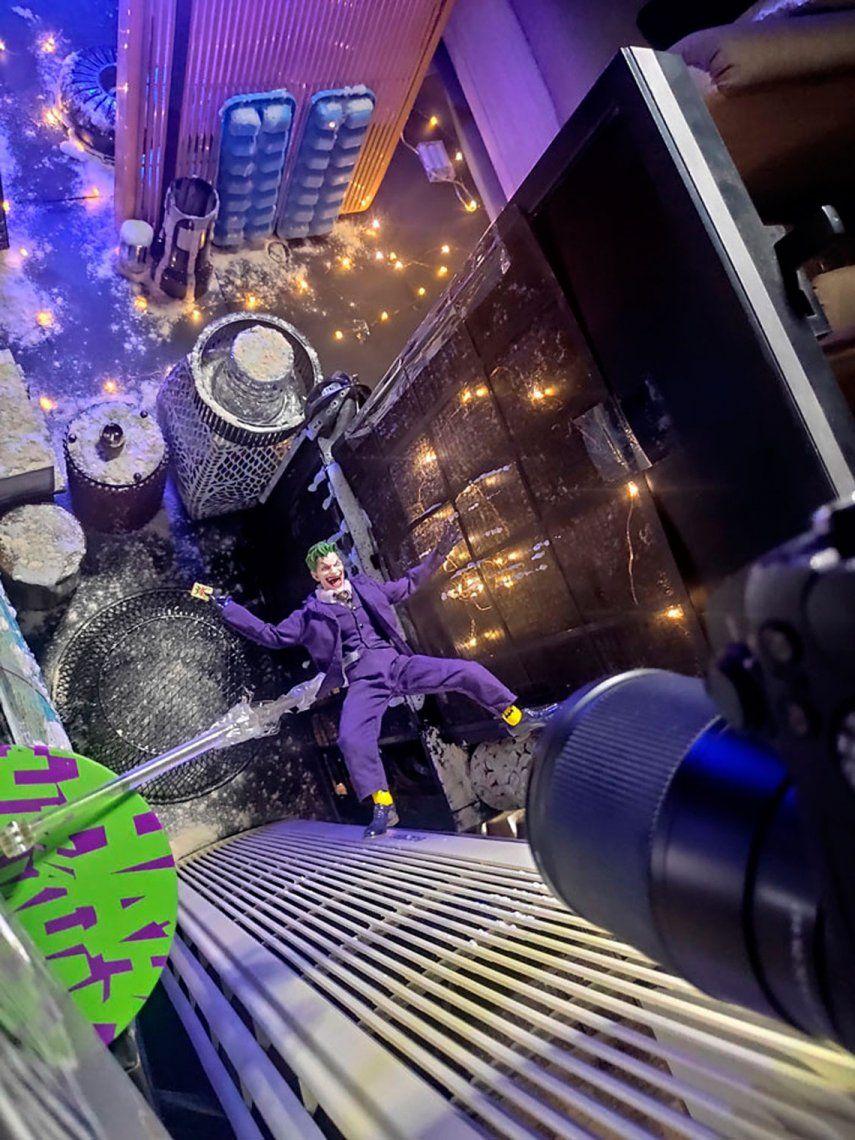 Mirá cómo se sacó esta increíble foto del Joker