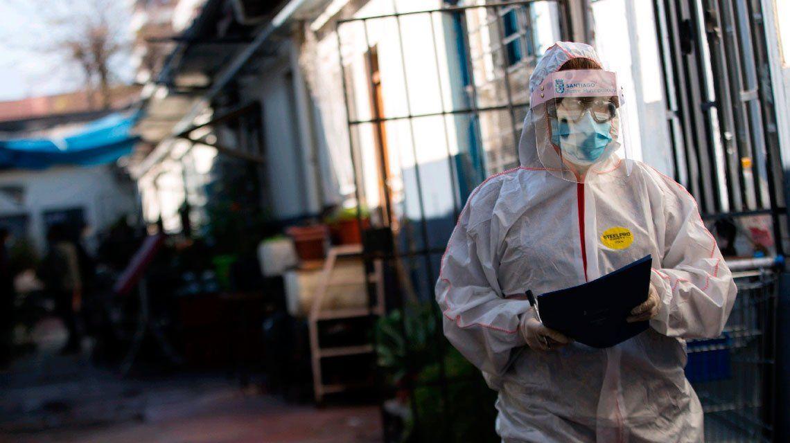 Coronavirus | Chile registró récord de contagios: 4.276 en un día