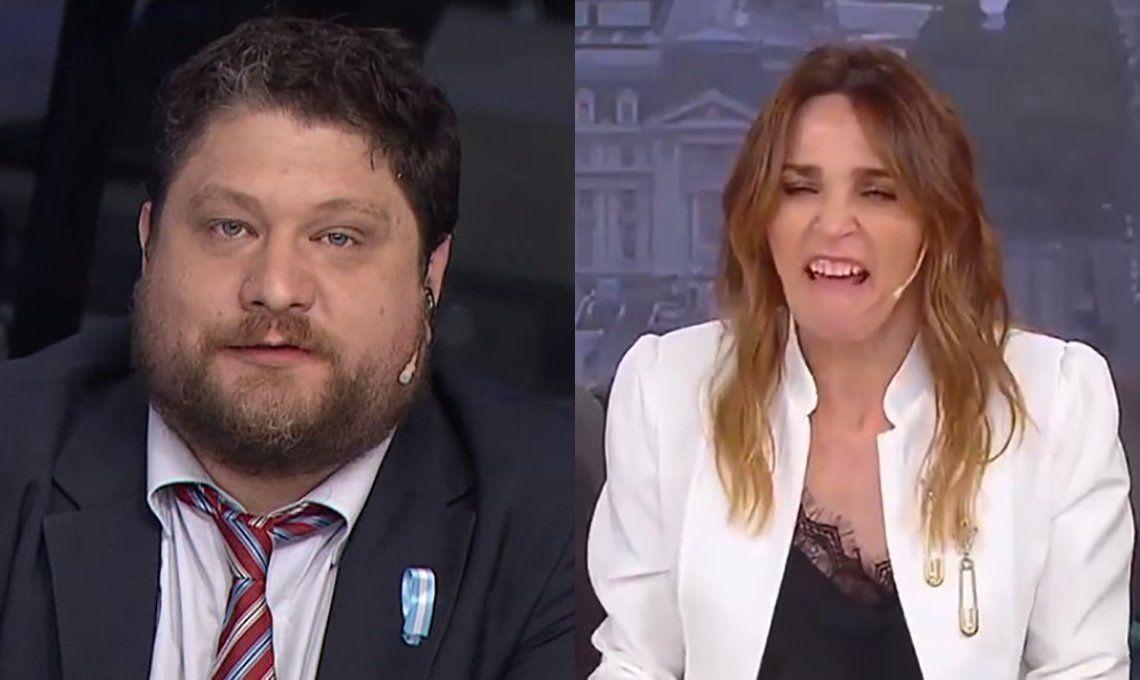 Viral: Verónica Lozano parodió a Nicolás Wiñazki por la militancia anti-cuarentena