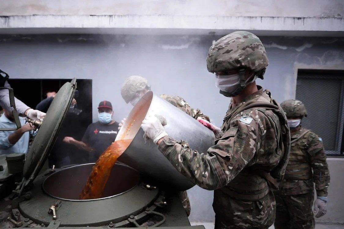 Coronavirus: el Ejército pondrá en marcha una ayuda social inédita en la Villa 1-11-14