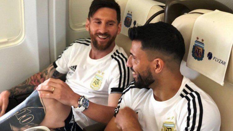 El Kun Agüero y Lionel Messi protagonizaron una divertida charla en Twitch