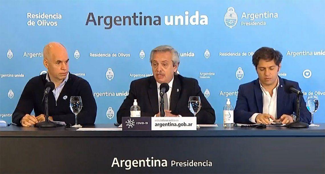 Alberto Fernández  anuncia cómo será la nueva fase de la cuarentena en AMBA