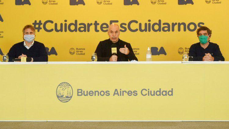 Larreta brindó detalles sobre la nueva etapa de la cuarentena en la Ciudad