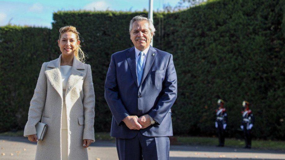25 de Mayo: Alberto Fernández encabezó una ceremonia atípica en Olivos