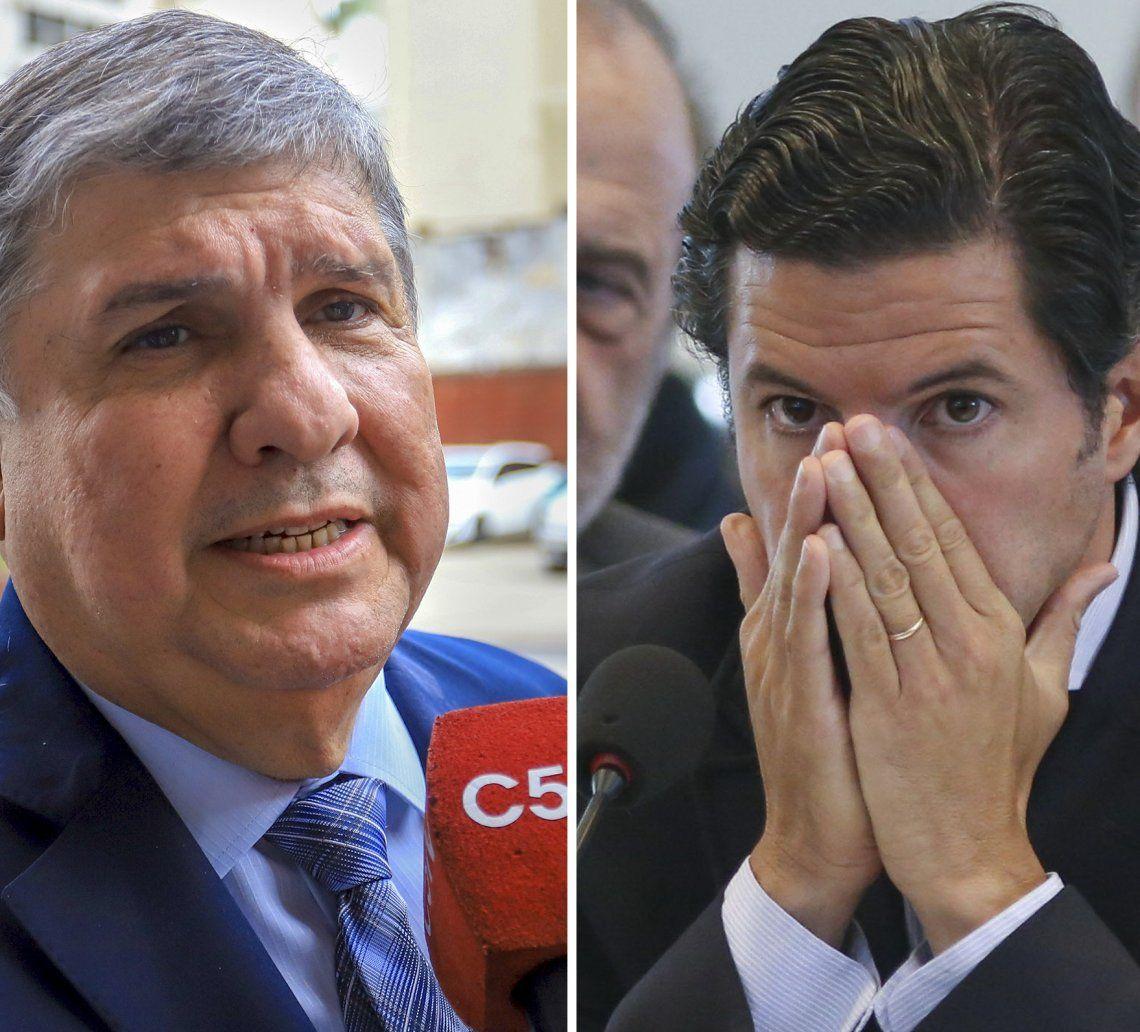 José Mayans y Luciano Laspina protagonizaron un áspero debate.