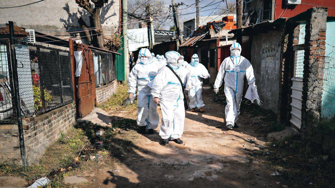 Se elevaron a 174 los casos de infectados en Villa Azul
