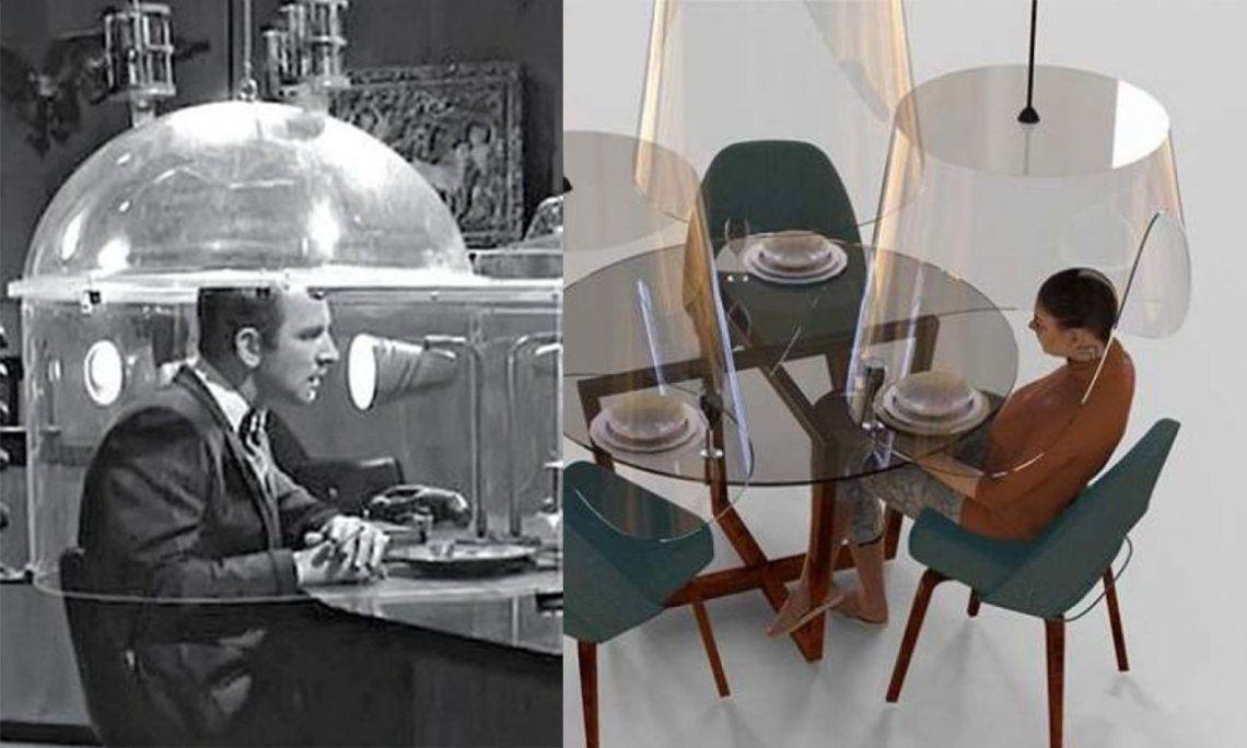 La campana transparente, una respuesta sanitaria extraída del mundo de Superagente 86