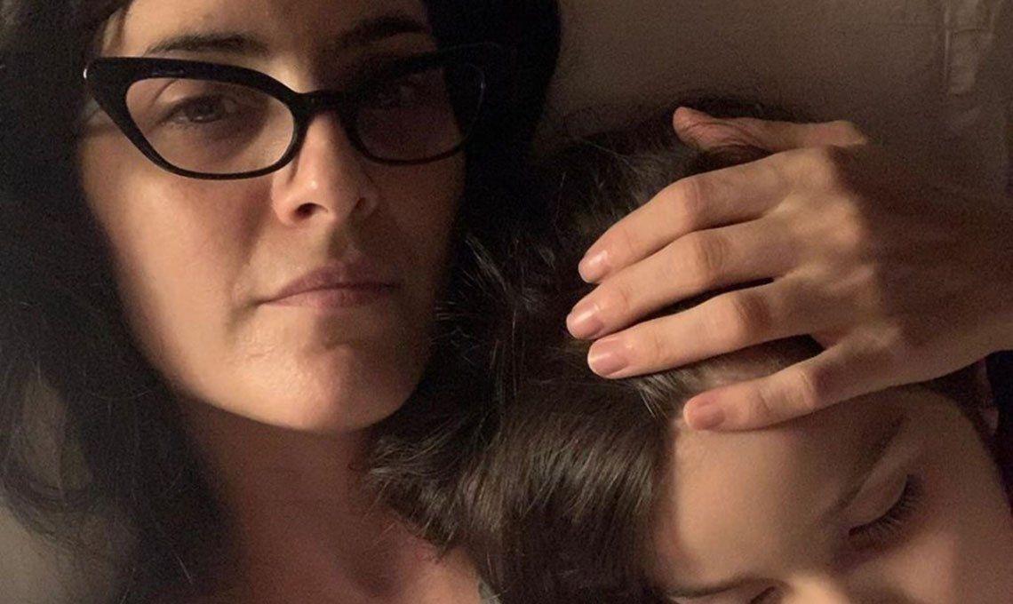 Julieta Díaz habló por primera vez sobre la parálisis cerebral que tiene su hija: Está muy bien