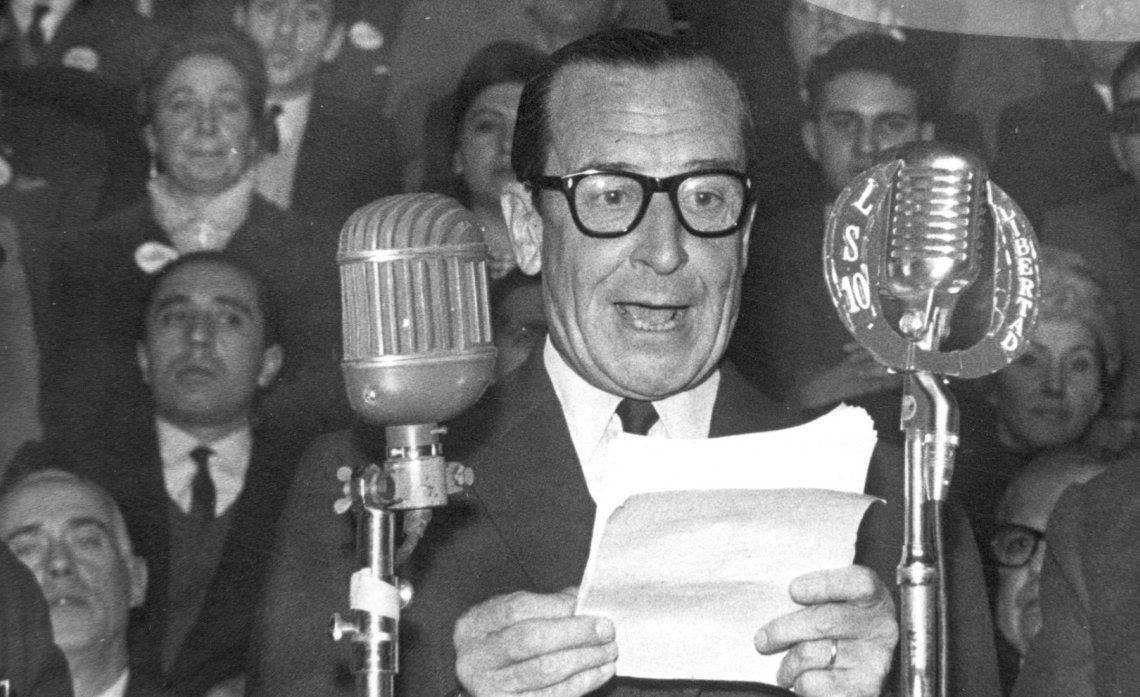 El general Pedro Eugenio Aramburu fue presidente durante la Revolución Libertadora entre 1955 y 1958.