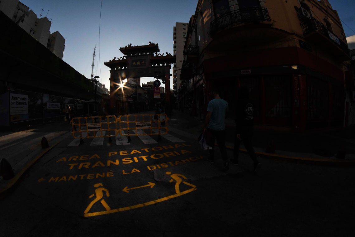 En fotos: las marcas que la pandemia está dejando en la Ciudad de Buenos Aires