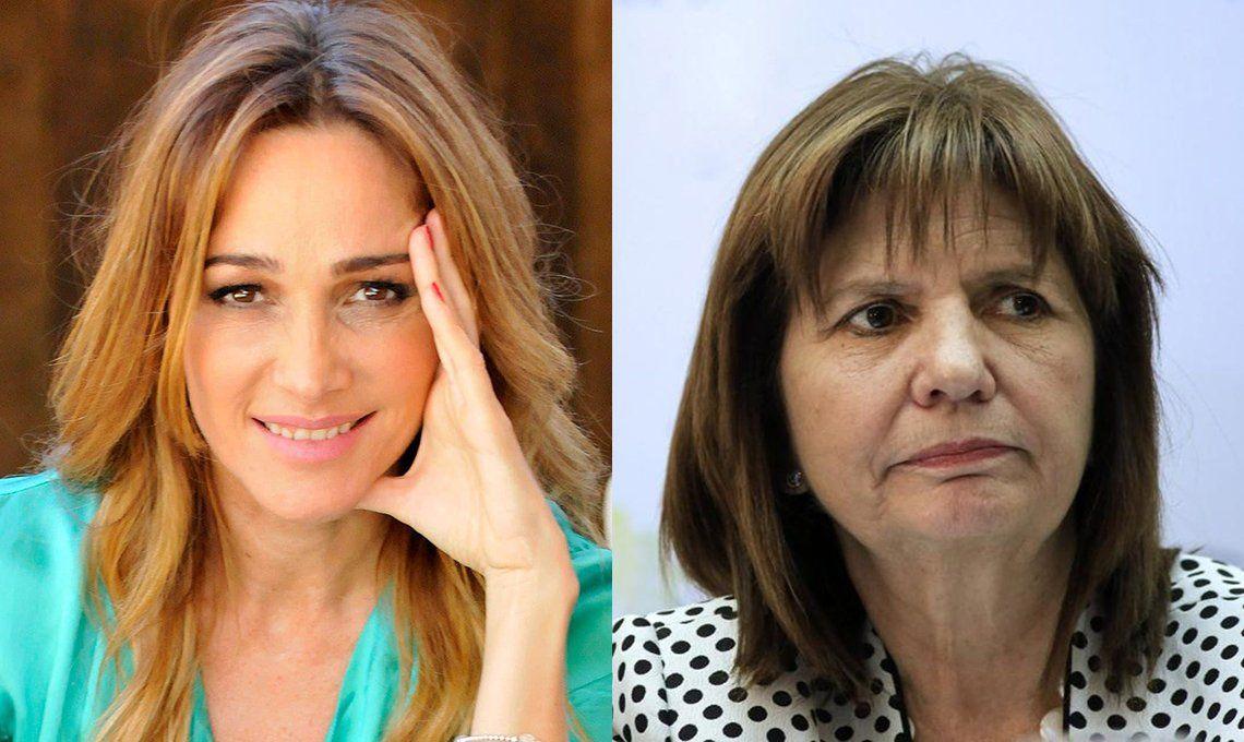 Patricia Bullrich chicaneó a Vero Lozano por burlarse de su peinado: Cortá por Lozano es una peluquería