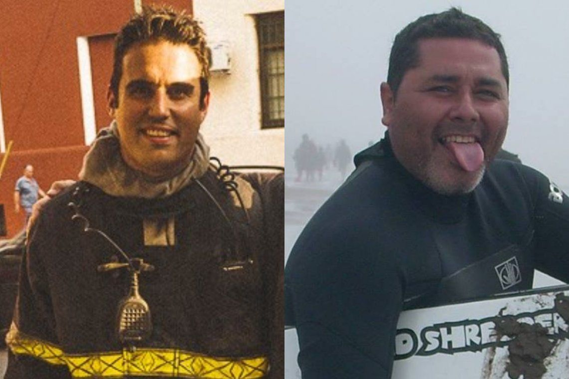 Quiénes eran Ariel Gastón Vázquez y Maximiliano Firma Paz, los dos bomberos que murieron en la explosión de la perfumería de Villa Crespo
