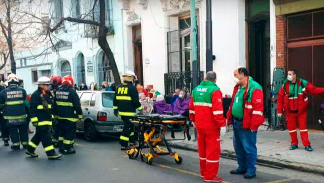 Incendio en geriátrico de Almagro: una pelea entre dos residentes fue el inicio de todo