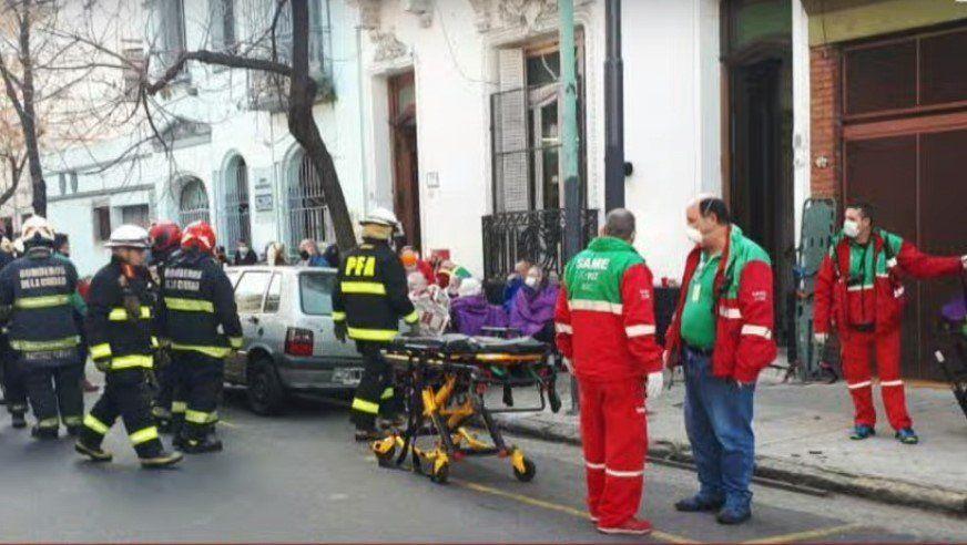 Evacúan geriátrico en Almagro por un incendio
