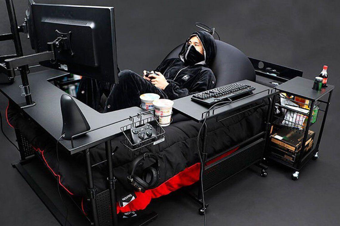¿Cuánto pensás que vale esta cama gaming? La cifra te va a dejar helado