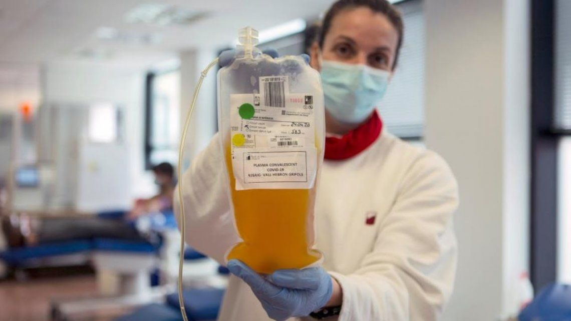 Una esperanza: afirman que cada donación de plasma puede salvar hasta cuatro personas infectadas de coronavirus