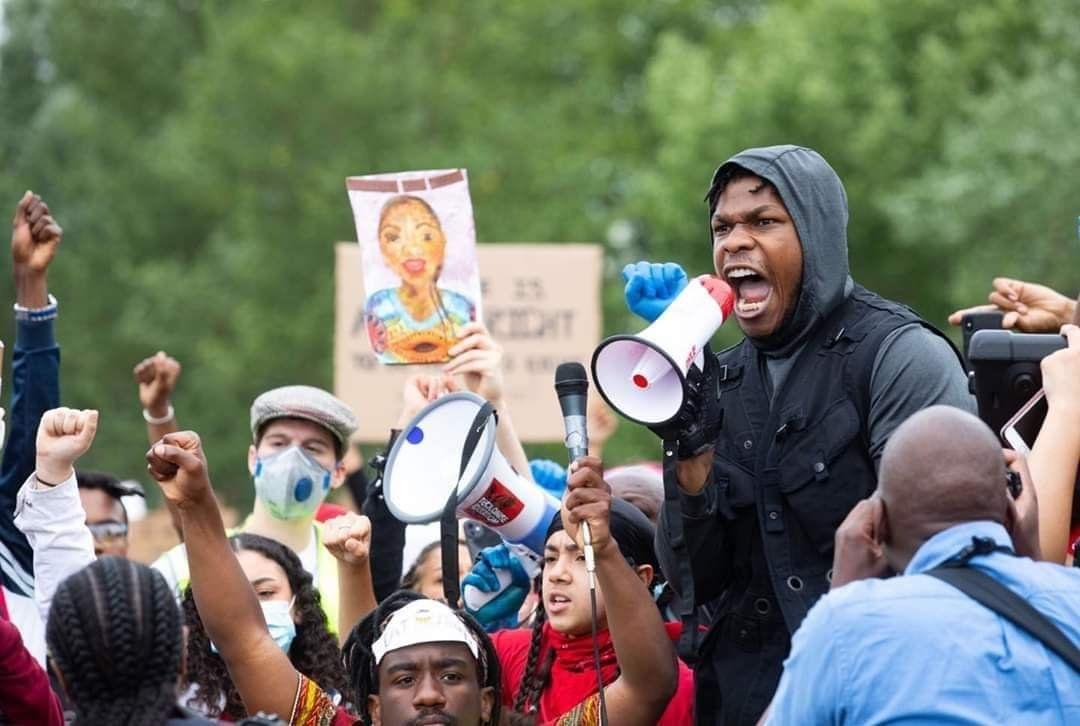 John Boyega, actor de Star Wars, alzó su voz contra el racismo y la muerte de George Floyd: No sé si tendré una carrera después de esto