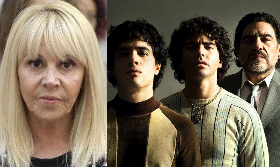 Claudia Villafañe cuestionó su rol de villana en la serie sobre Maradona: No voy a permitir que muestren una mujer que no soy