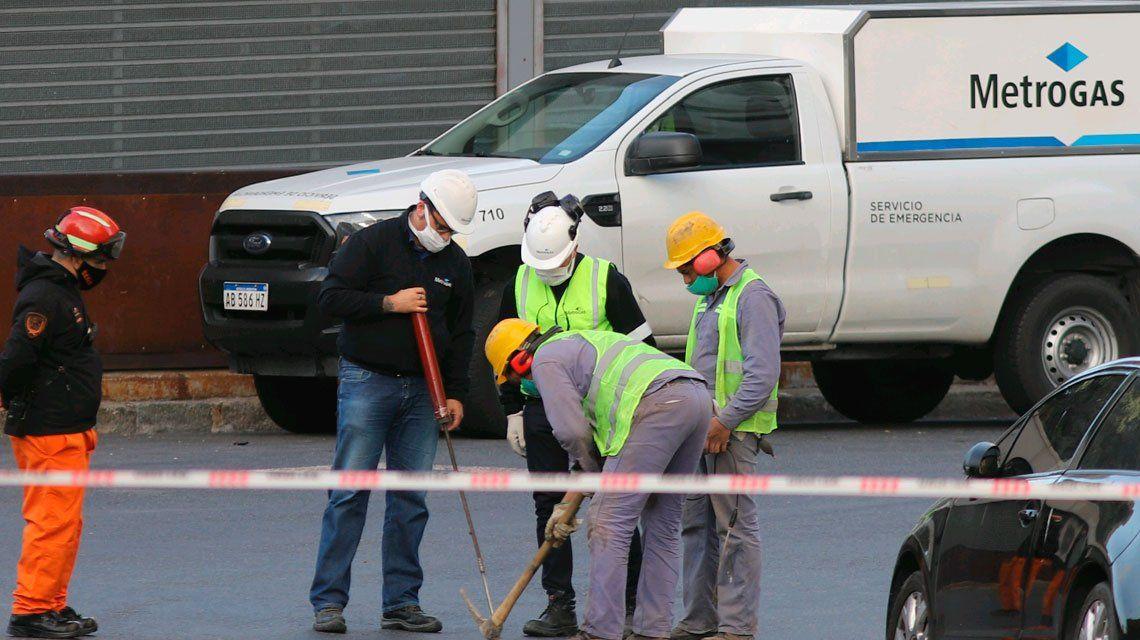 Evacuaron el Ministerio de Economía de la Nación por una pérdida de gas