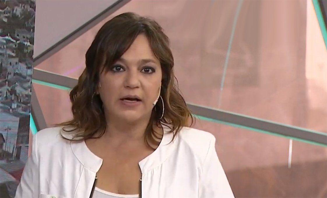 Lorena Maciel recibió duras críticas por un comentario durante el homenaje a los bomberos