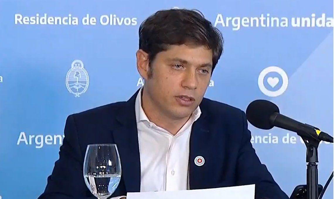 Axel Kicillof anunció la implementación de un sistema de fases diferenciado para municipios