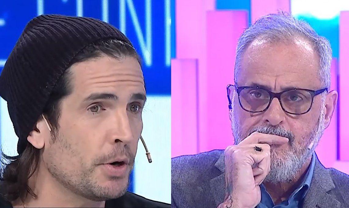 Diego Ramos le dijo en la cara a Jorge Rial que en Intrusos se perseguía a los homosexuales