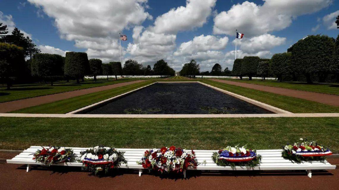 Por el Coronavirus, el 76º aniversario del Desembarco de Normandía se celebró a puertas cerradas