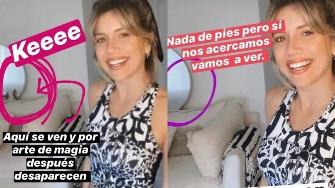 ¿Está pasando la cuarentena acompañada? La misteriosa foto de Laurita Fernández que luego borró