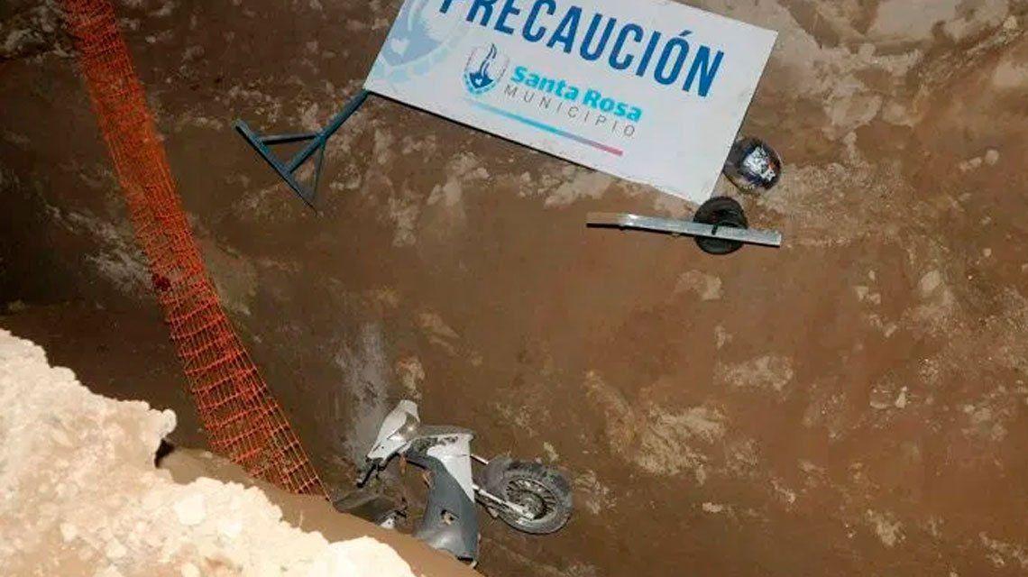 La Pampa: murió una mujer al caer en un pozo de la red cloacal