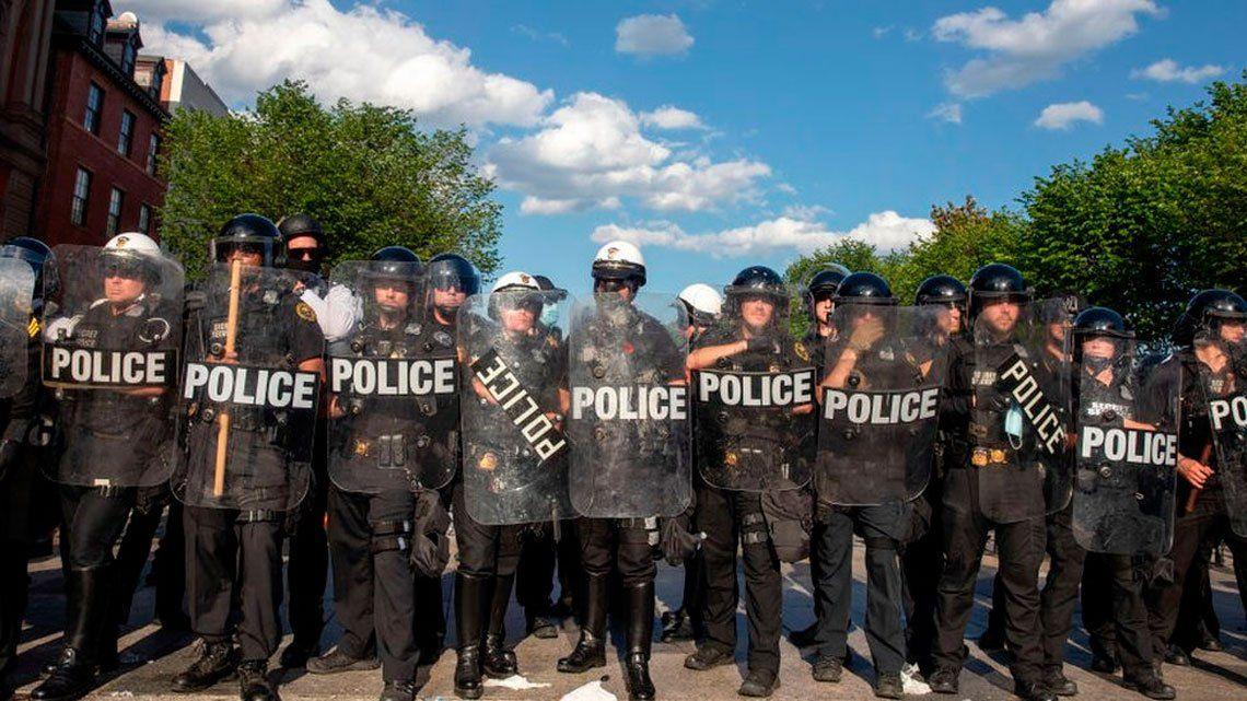 El rol de la Policía, clave en el juego electoral de Estados Unidos