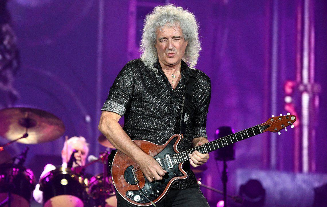 Polémico ranking: Brian May se impuso a Jimi Hendrix como el mejor guitarrista de la historia