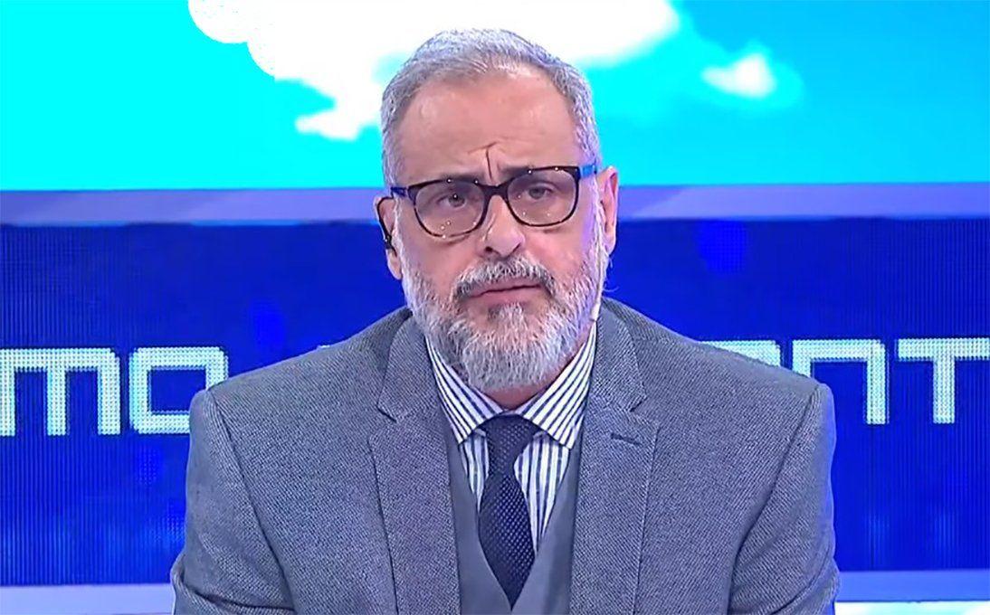 Jorge Rial salió con los tapones de punta tras los rumores de una pelea con su panel