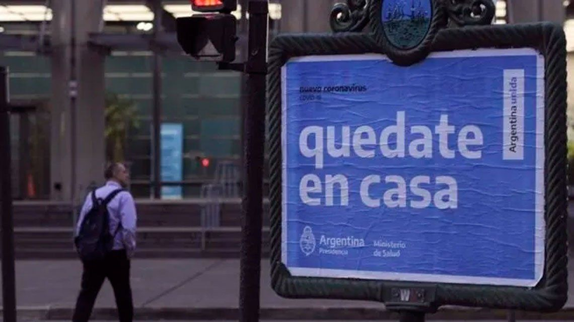 Coronavirus en Argentina: seis nuevas muertes y 1.226 nuevos contagios
