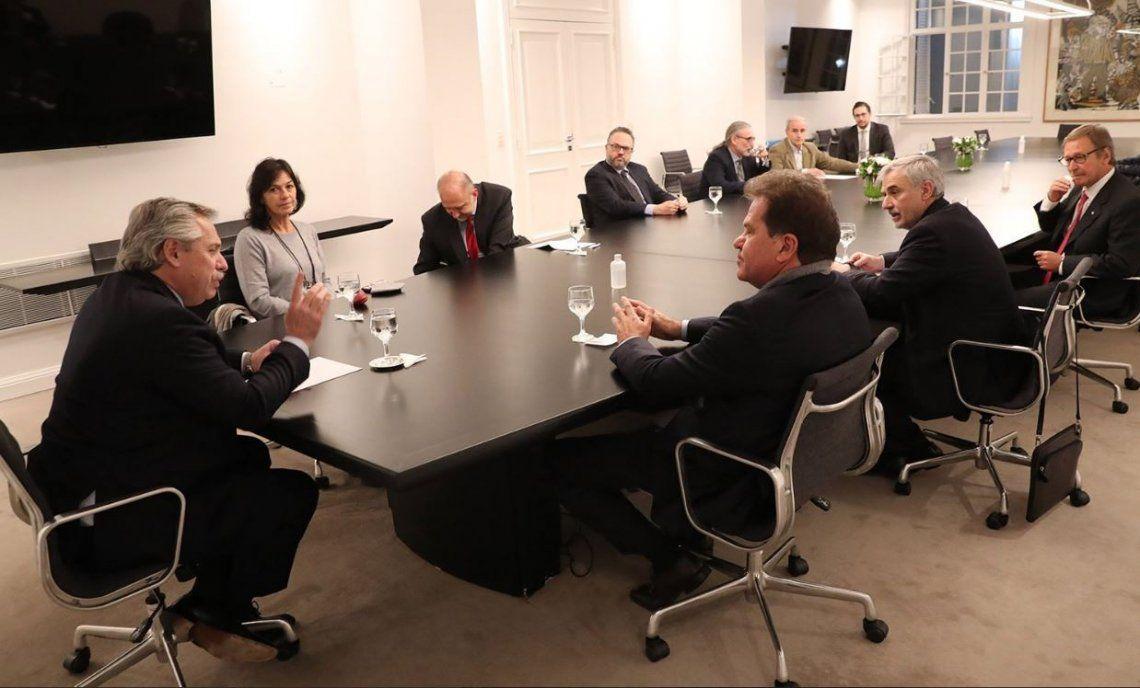El Presidente recibió en Olivos al CEO de Vicentin