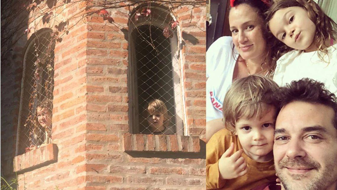 El emotivo mensaje de Pedro Alfonso a sus hijos en medio de la cuarentena: Ya vamos a salir