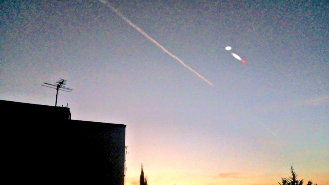 ¿Ovnis en Argentina? El cielo argentino se llenó de luces y explotaron las redes