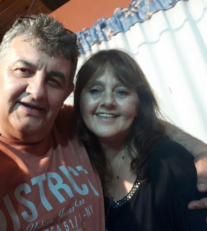 Desgarrador adiós de la esposa al remisero asesinado: Eras mi loco lindo