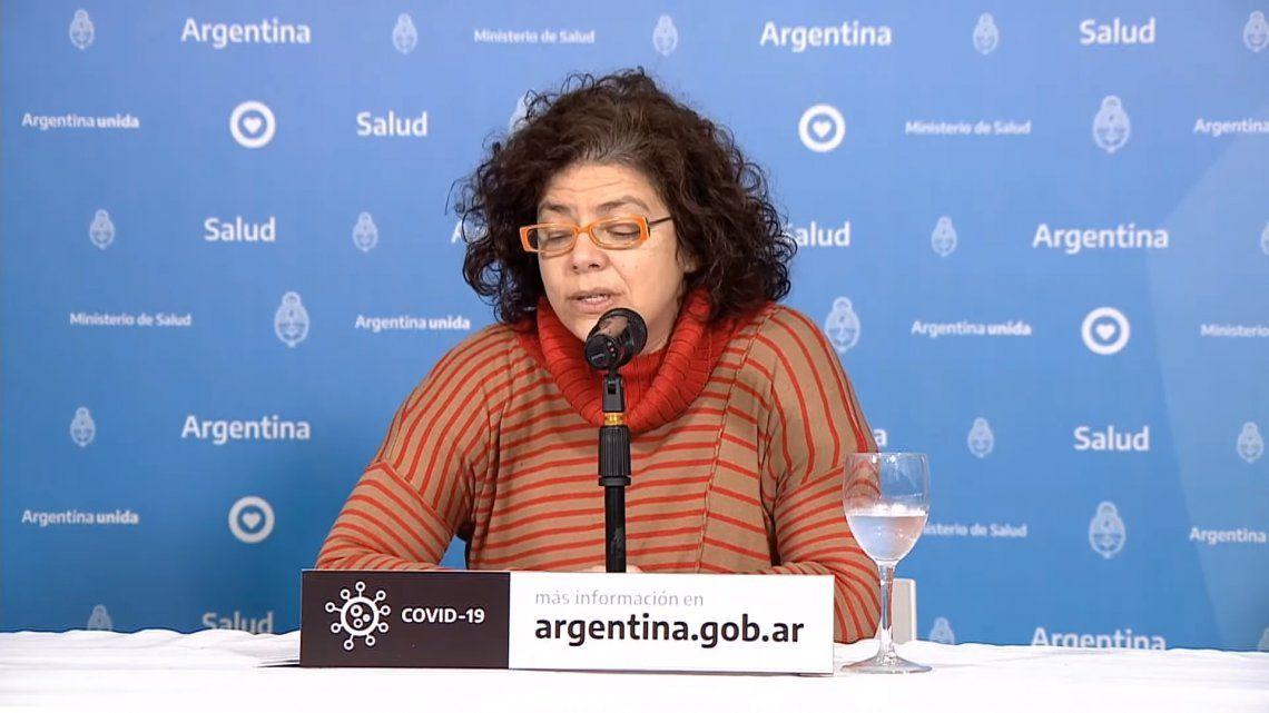 Coronavirus: reportan ocho nuevas muertes en la Argentina