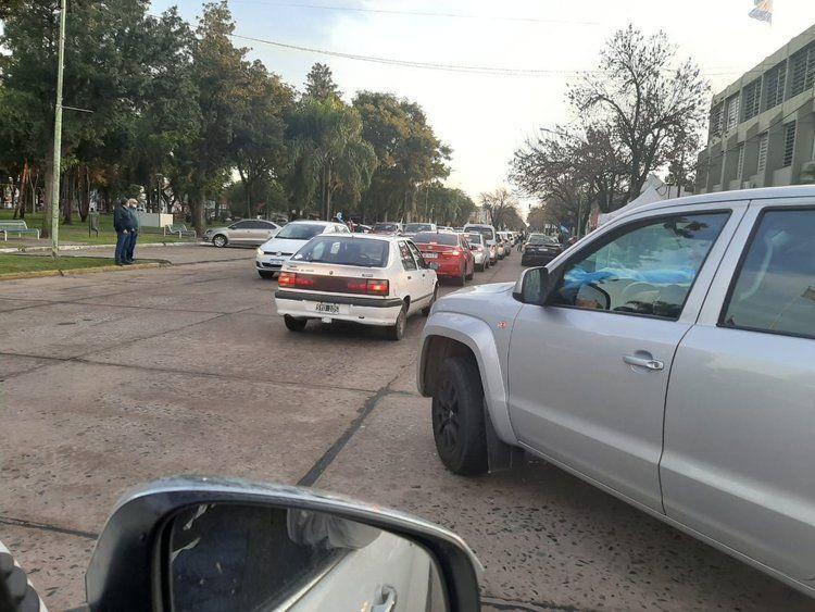 Caravana en Santa Fe en rechazo a la intervención de Vicentin