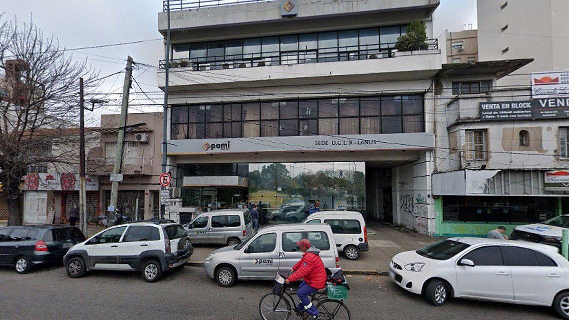 Activan el protocolo sanitario y desinfectan la sede de Pami en Lanús