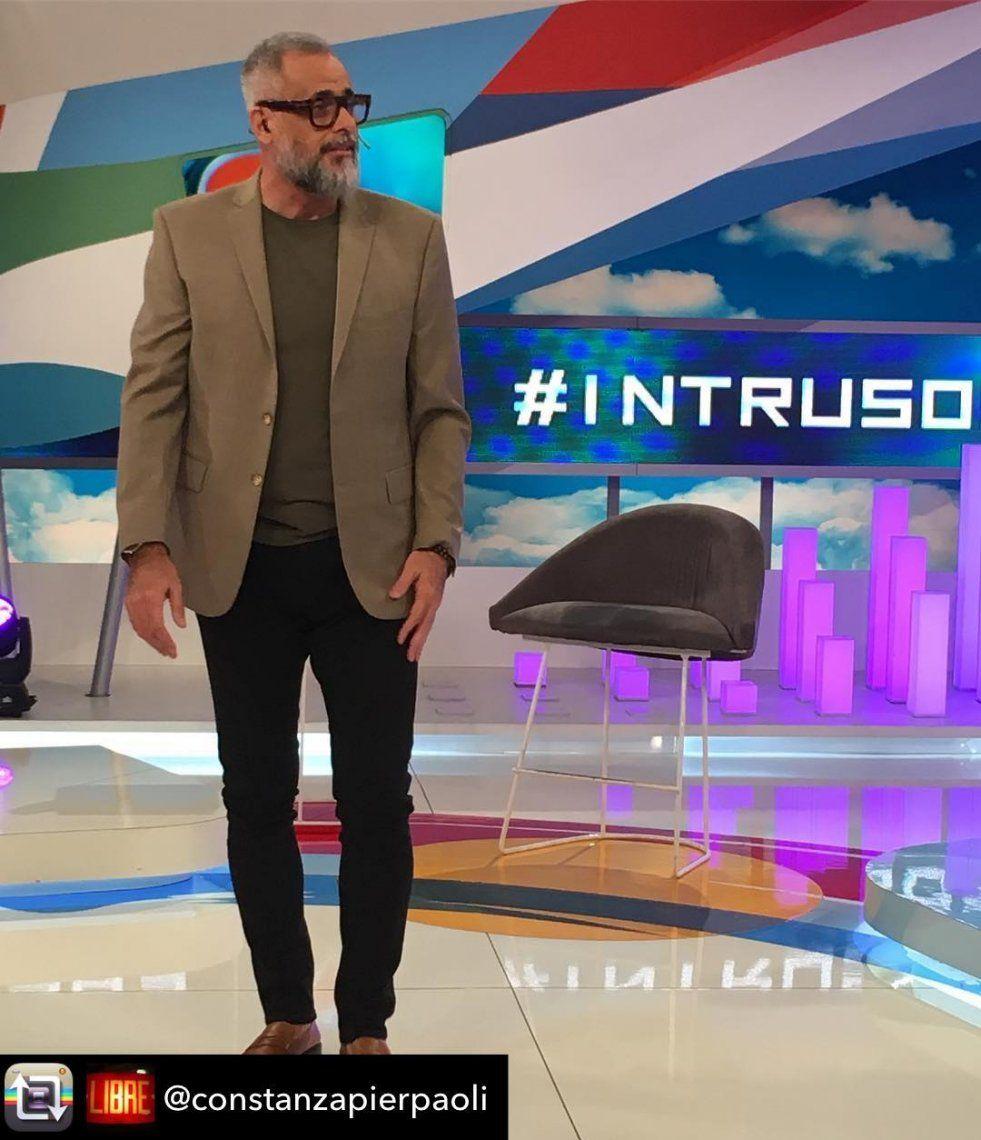 Jorge Rial faltó a Intrusos por prescripción médica: Está un poquito engripado