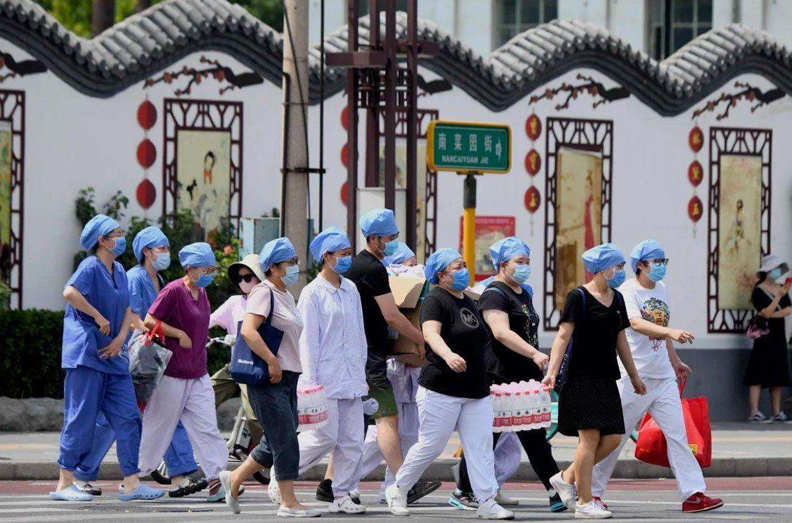 En fotos: más de cien nuevos contagios de coronavirus en China