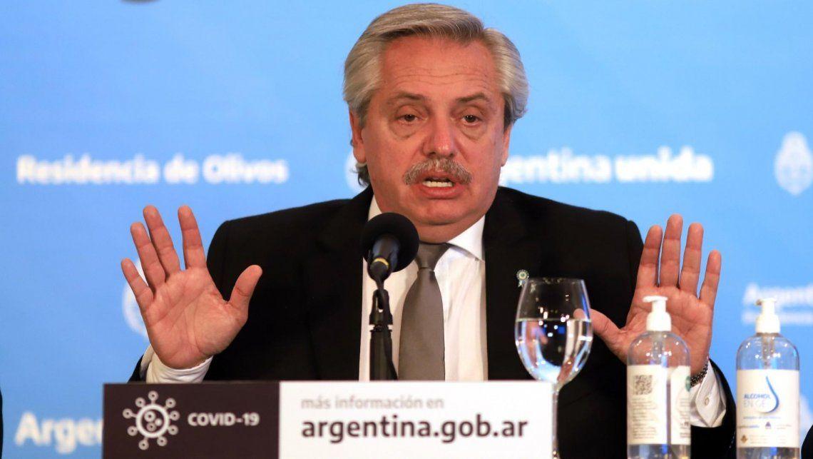 Alberto Fernández: Trabajamos cada día para levantar a la Argentina de la postración en la que estaba