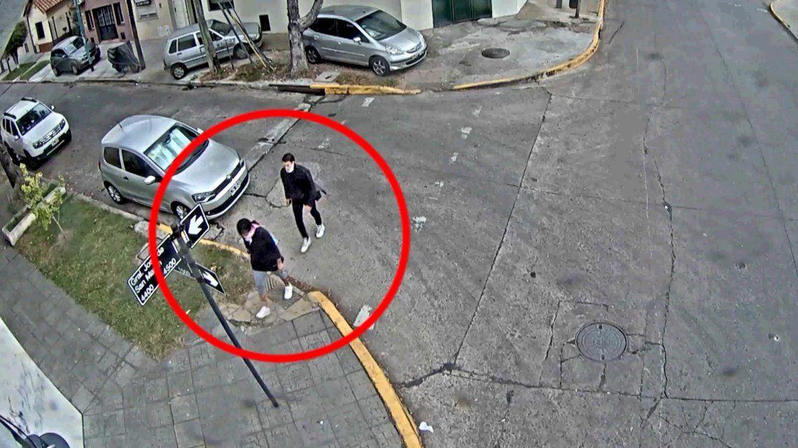 Vicente López: abusó de una chica en la calle, lo siguieron con las cámaras y terminó preso